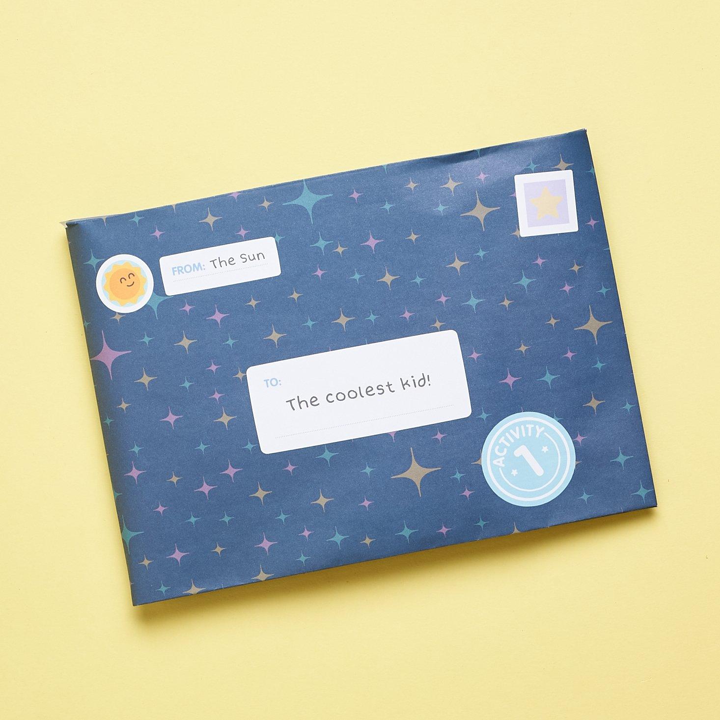 Sago Mini Box March 2021 activity 3 envelope