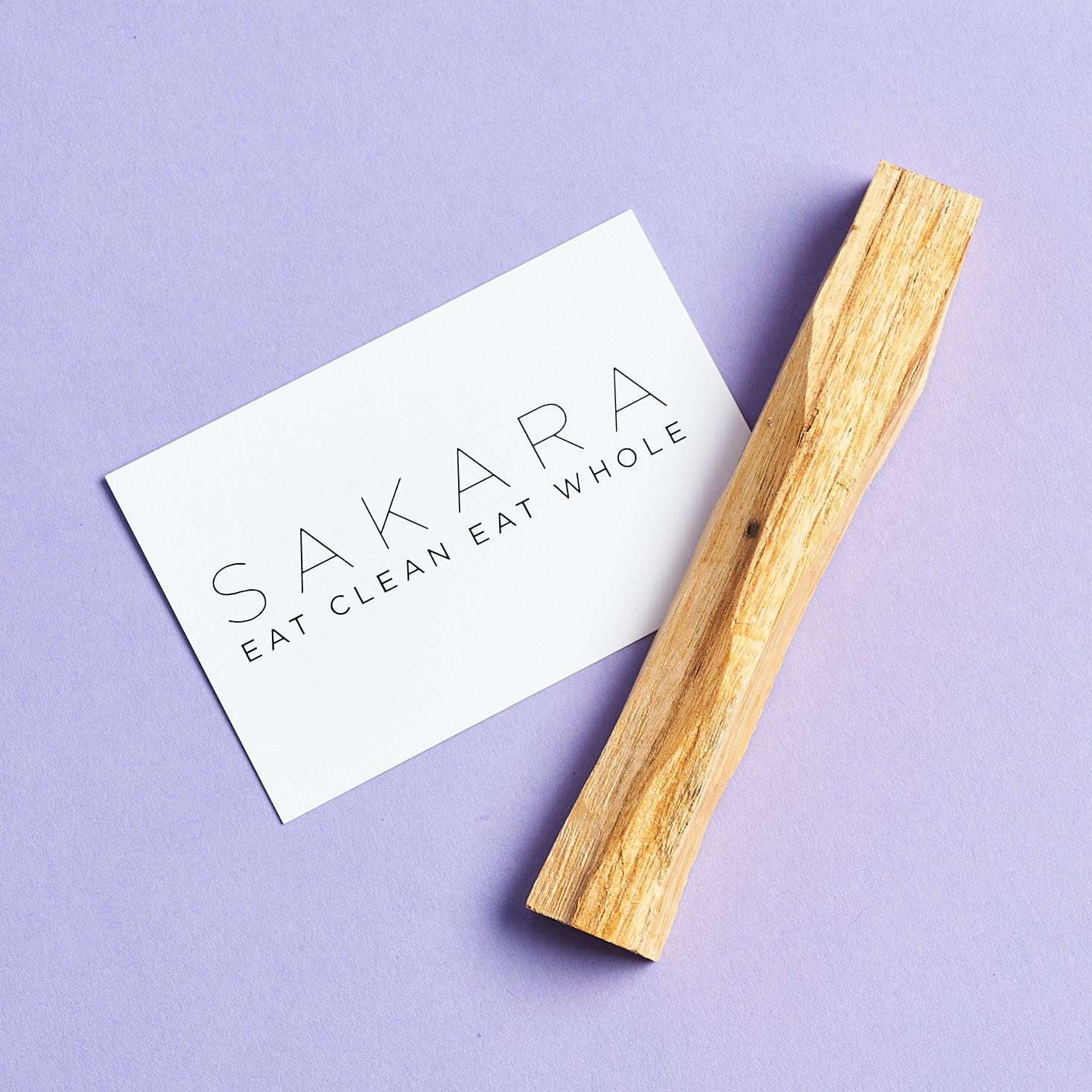 Palo Santo from Sakara Life