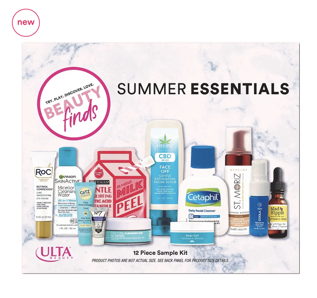 New Beauty Finds by ULTA Summer Essentials Kit – Available Now