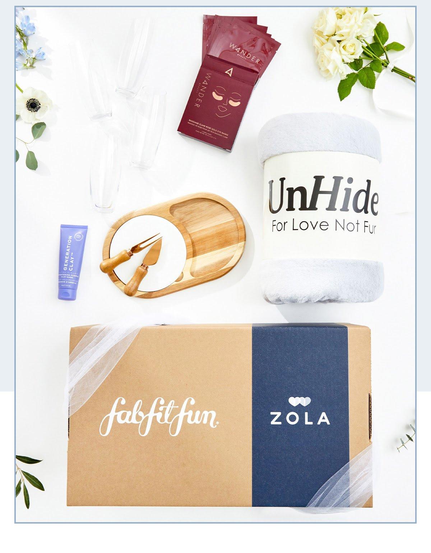 FabFitFun x Zola Box Launches In Time for Wedding Season