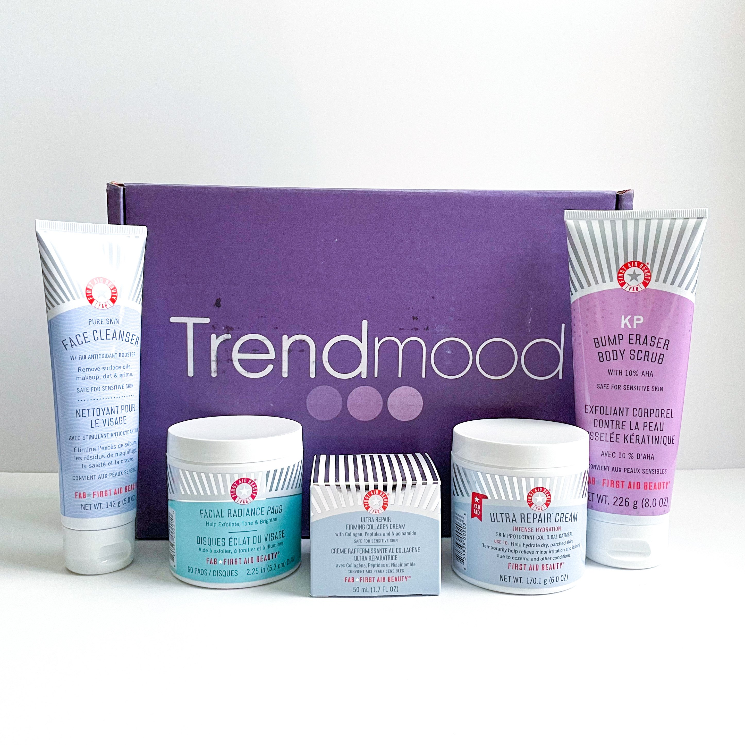 Trendmood x First Aid Beauty Beauty Box Review