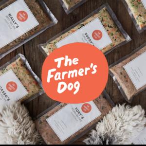 The farmers dog food and logo
