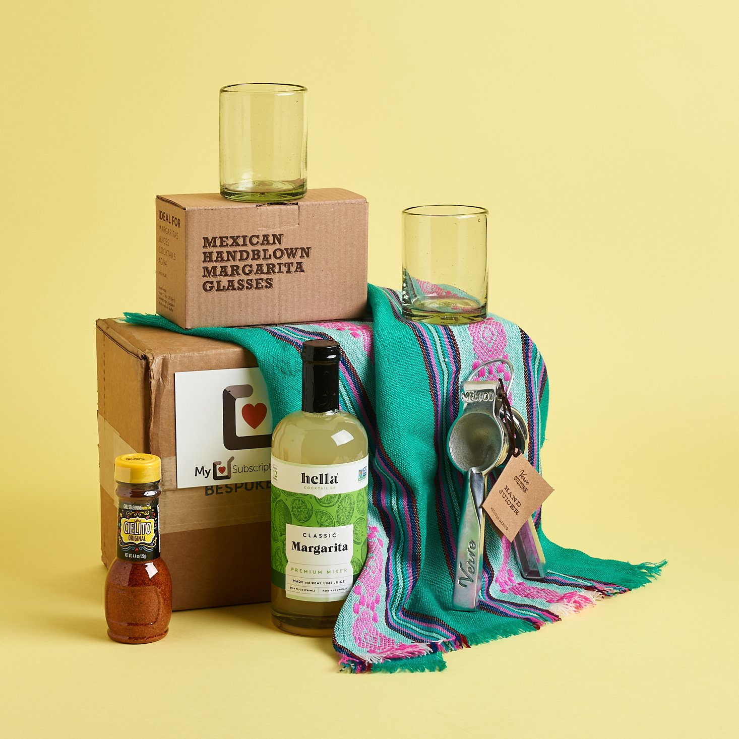 """Bespoke Post Subscription Box Review + Coupon – """"Salud"""""""