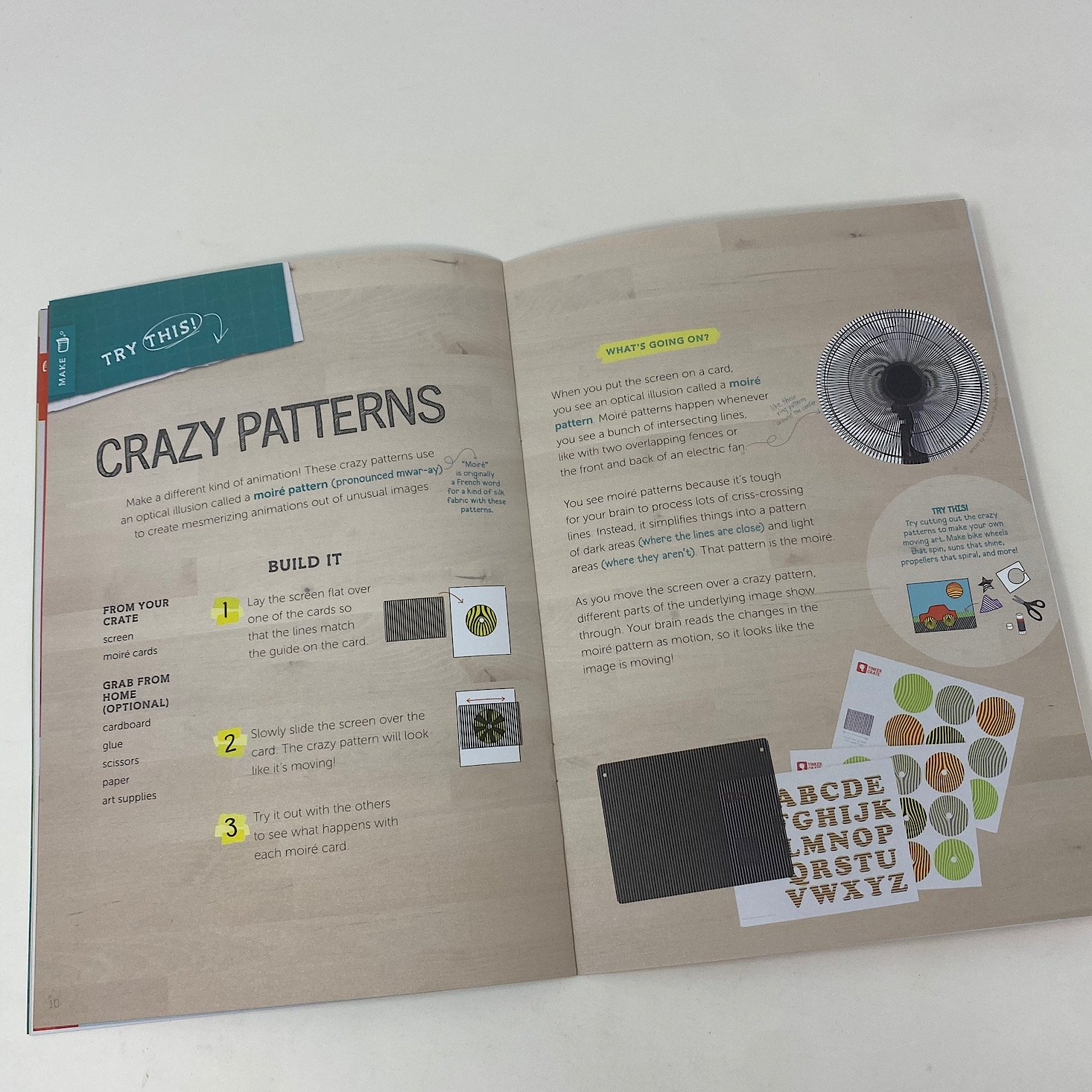 Crazy Patterns Page