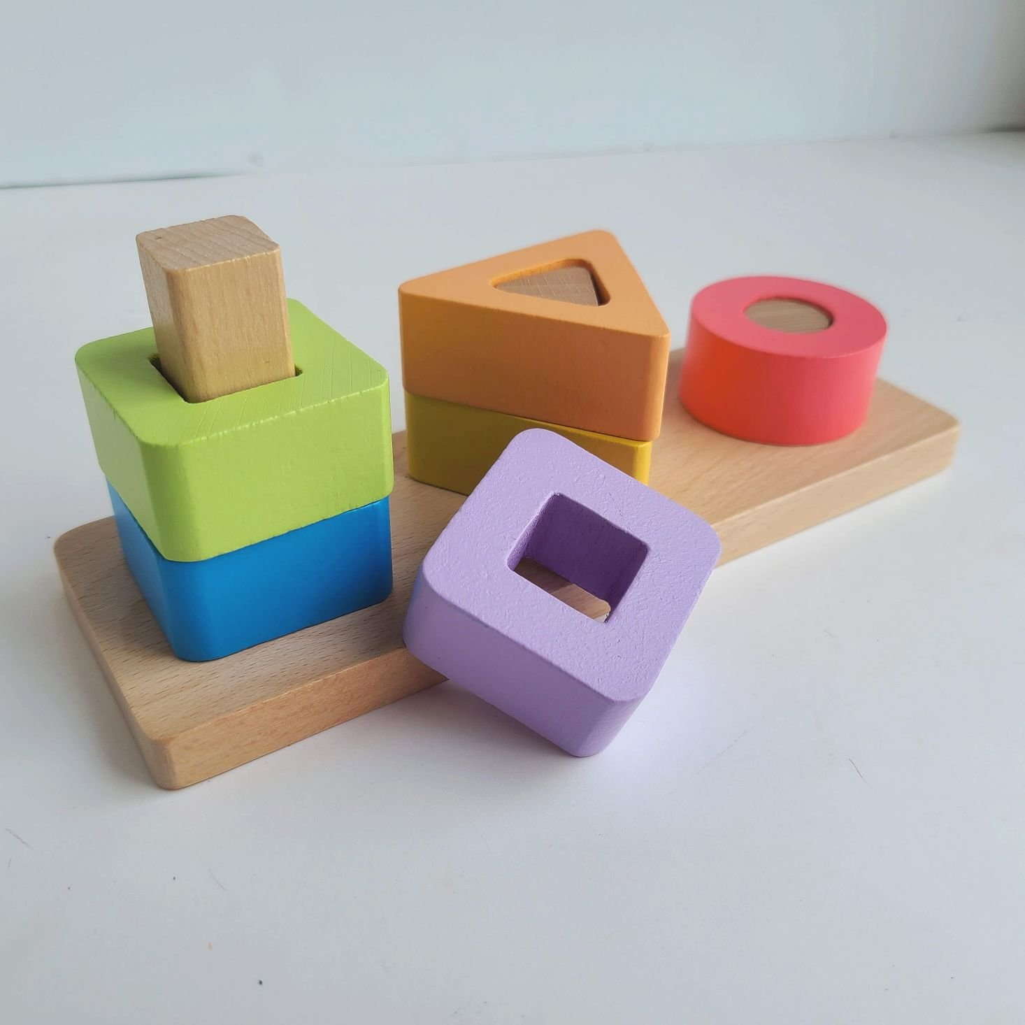 Panda Crate Solve With Me Box shape stacker 1