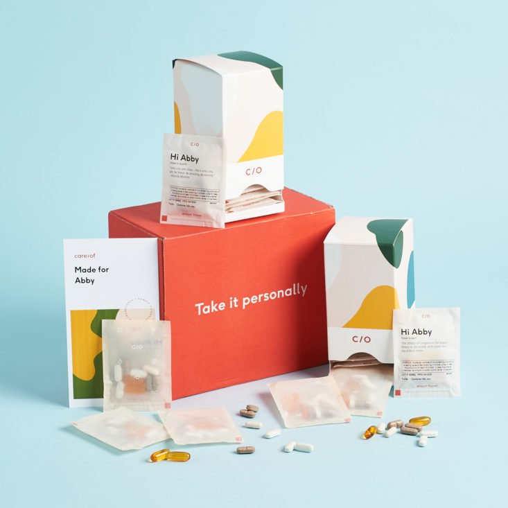 My Care/of Supplement Review - Personalized Vitamins and Minerals To Match Your Lifestyle