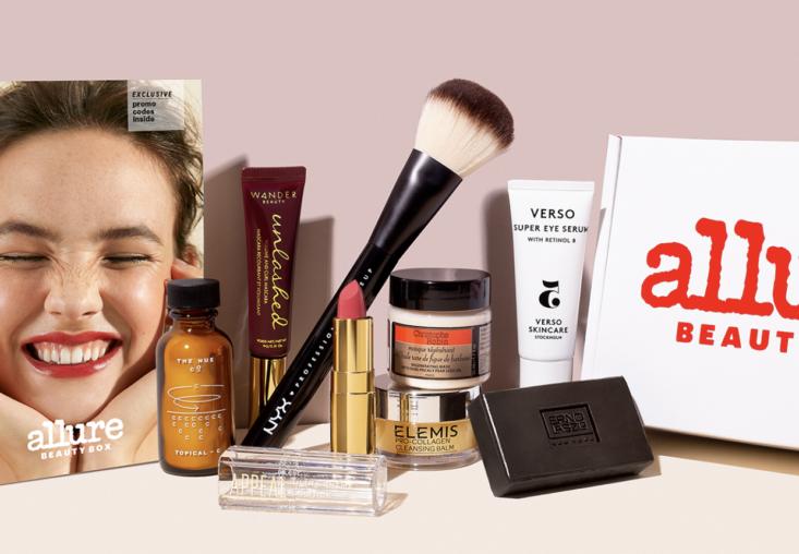 allure makeup beauty box