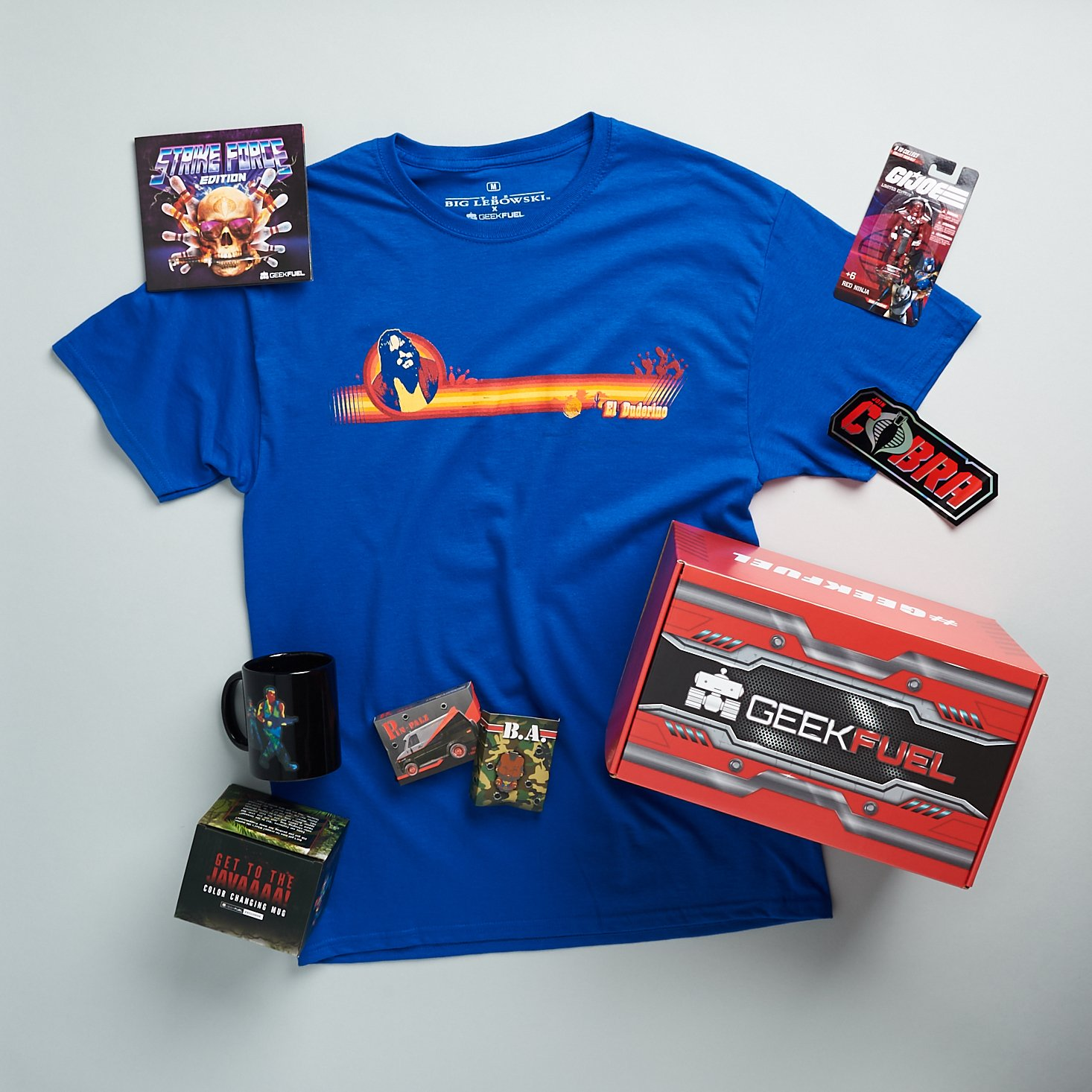 """Geek Fuel August 2021 """"Strike Force Edition"""" Review"""