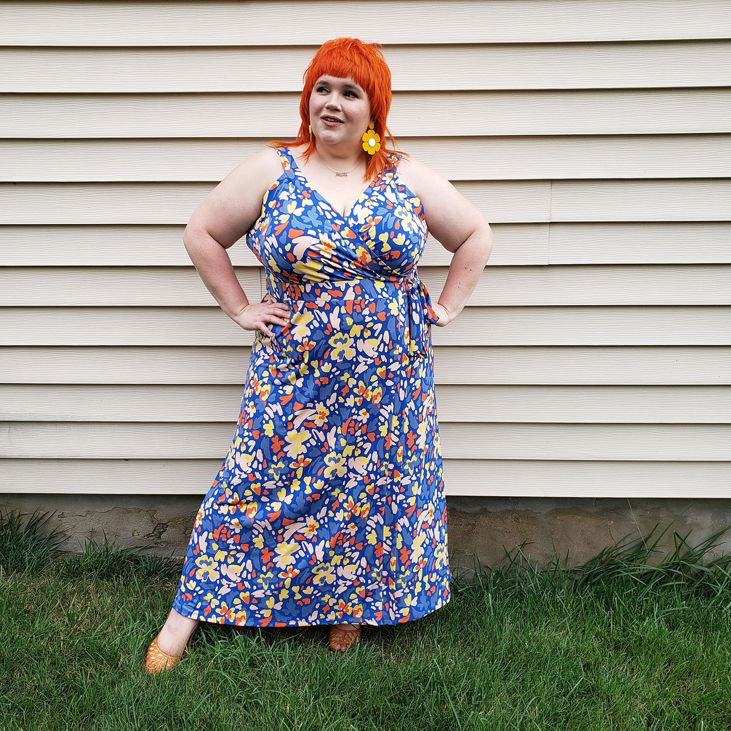 Stitch Fix Plus Size End of Summer Dresses and Jumpsuits Review