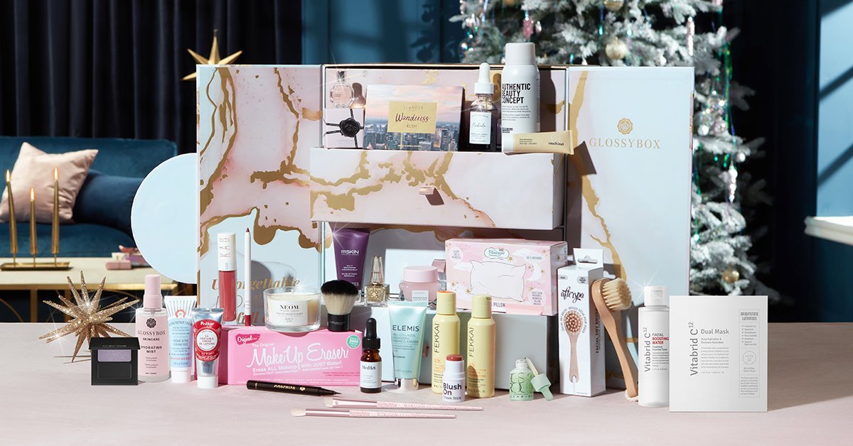 Exclusive Glossybox Coupon: Get a Free Mystery Box With 2021 Advent Calendar
