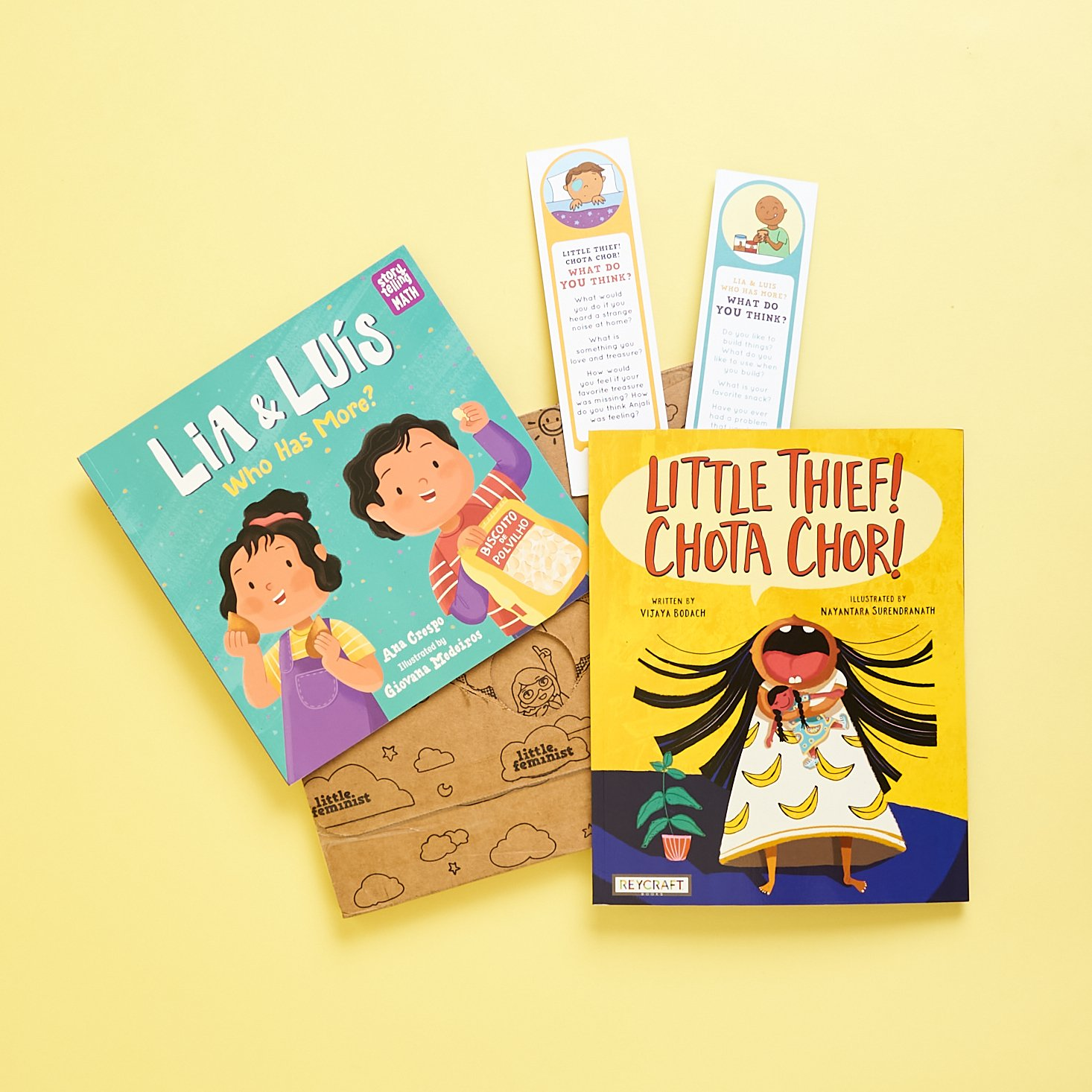 Little Feminist Book Club Ages 2-4 September 2021 Review + Coupon