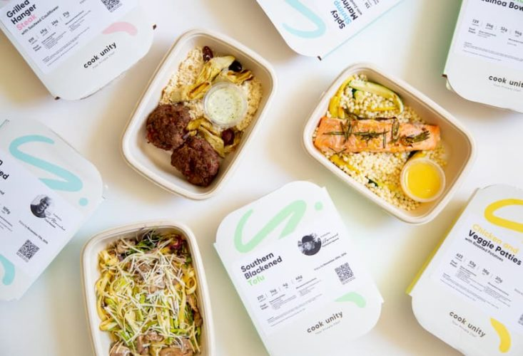 Some meals from CookUnity