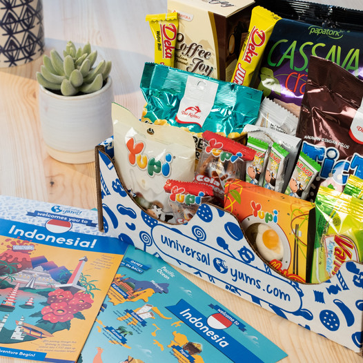 Superlatives for the Latest Universal Yums Indonesia Box